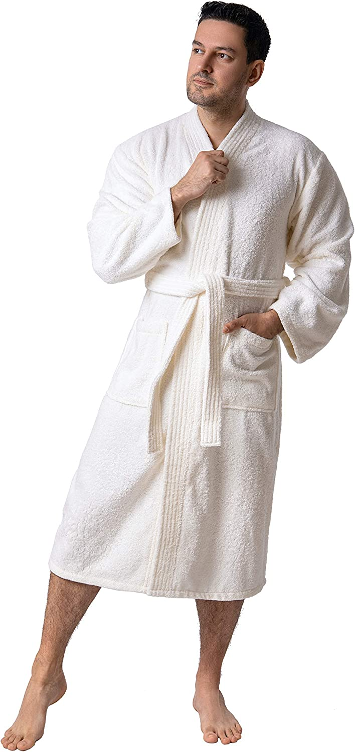 Cheap super special price Mens Robe Certified Limited price sale Organic Bathrobe Turkish – Cot 100%