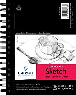 Canson Artist Series Universal Sketch Pad 1 Pack 100510850