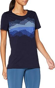 Icebreaker Spector Cook Reflected Merino - Camiseta para Mujer