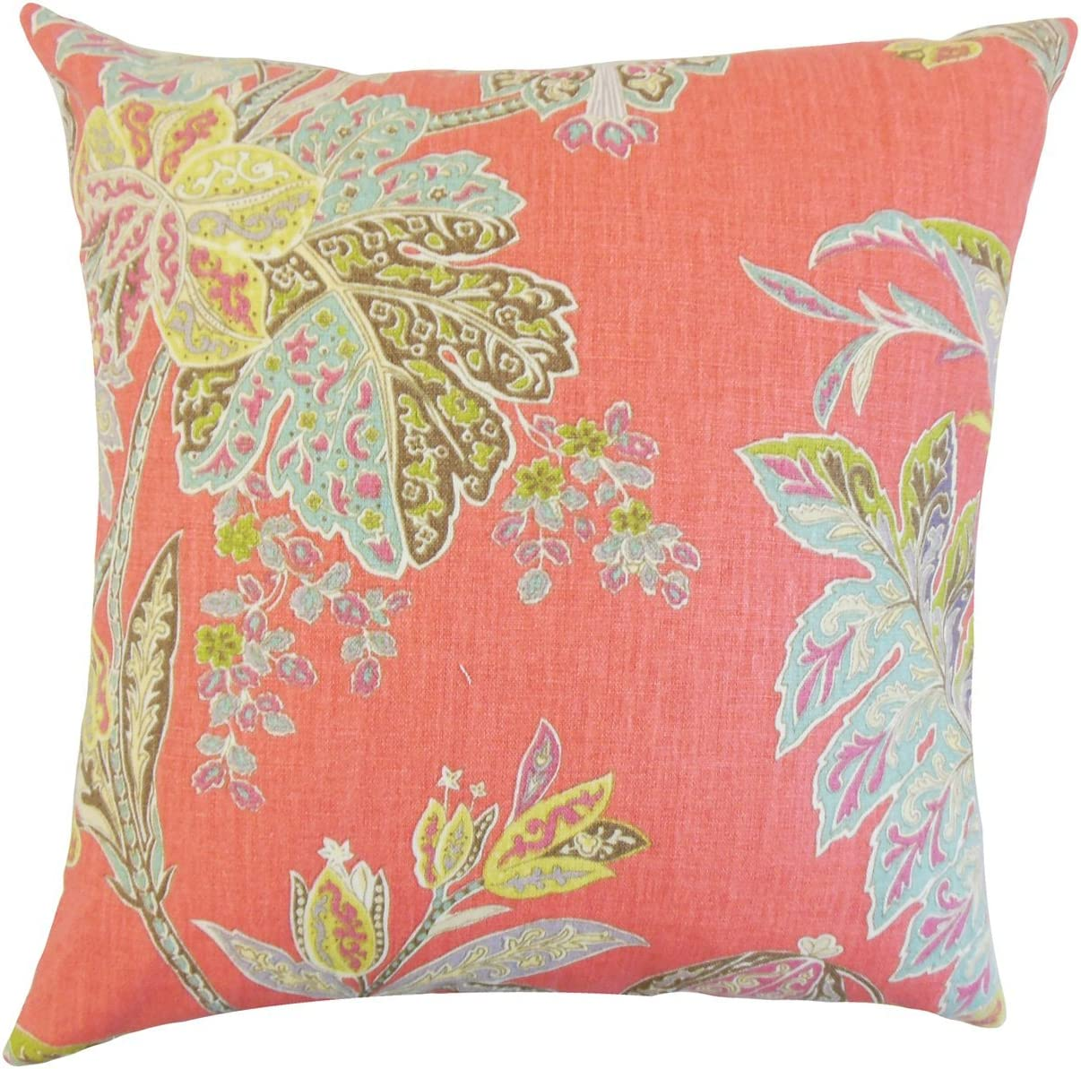 The Pillow Collection Taja Floral Boston Mall Festival Throw Sales Cover