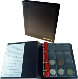PELLERS Coin Album for 120 Big Coins with a Diameter up to 1.57