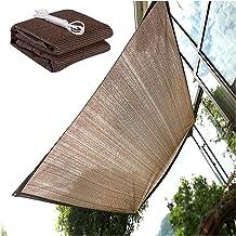 PENGFEI zonnescherm, inkijkbescherming, schaduwnet, outdoor zonweringsnet, verdikking, voor balkon, terras, plantenbescher...