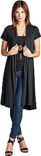 Best short sleeve duster cardigan Reviews