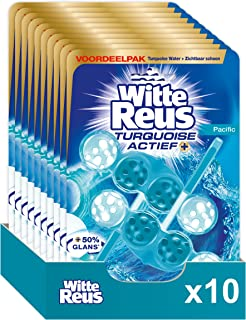 Witte Reus Turquoise Actief - WC blokjes - Voordeelverpakking - 10 x 2 Stuks