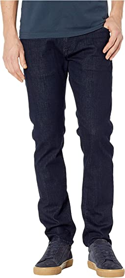 Marcus Regular Rise Slim Straight Leg in Rinse Portland