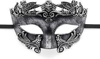 BAWASEEHI Masquerade Mask for Men- Roman Greek Mythological Ventian Mask Halloween Cosplay