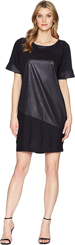 Kenneth Cole New York Color Blocked T-Shirt Dress
