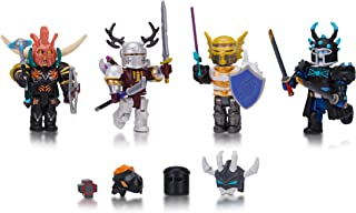 Roblox Action Collection - Days of Knight Four Figure Pack [Includes Exclusive Virtual Item]