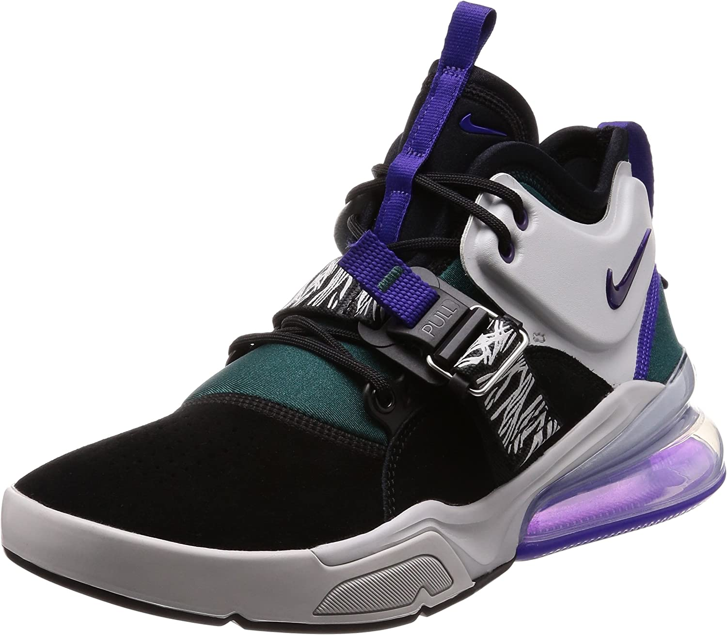 Nike Air Force 270 Carnivore Men's shoes Black Court Purple ah6772-005