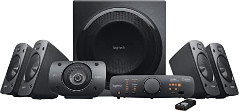 Best Logitech Z906 5.1 Surround Sound Speaker System - THX, Dolby Digital and DTS Digital Certified - Black Review