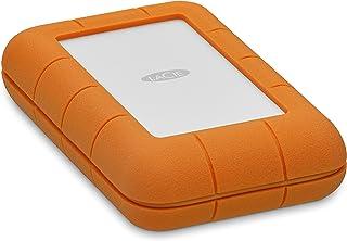LaCie 莱斯 Rugged USB 3.0 迷你磁盘便携式硬盘 4TB Thunderbolt USB-C