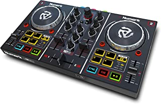 Numark Party Mix - Complete DJ Controller Set for Serato DJ