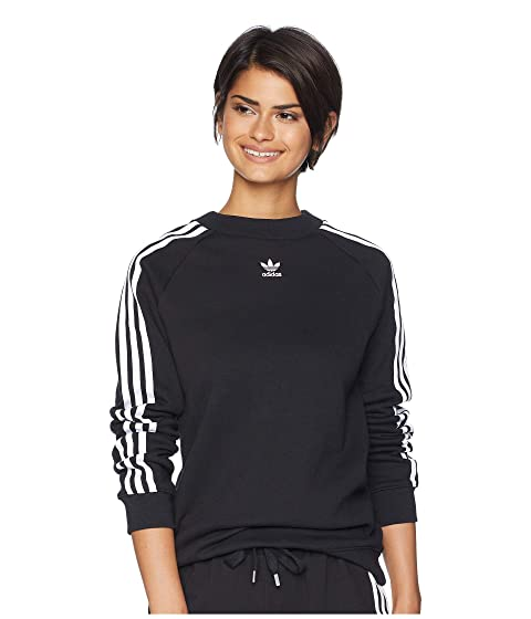 adidas Originals Trefoil Crew Sweater at Zappos.com d902b95383b
