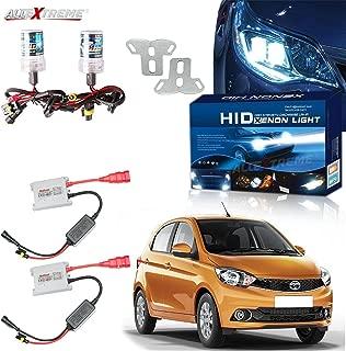 AllExtreme H8 HID Xenon Light Kit Bulbs 6000k High Intensity Discharge Kit Conversion Xenon Light For All Bikes Cars Maruti Suzuki Swift (55W, Set of 2)
