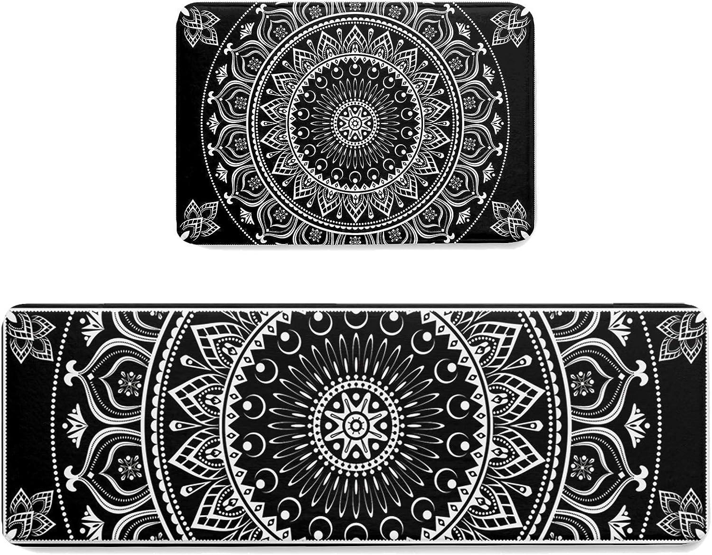 Kitchen Area Rug Runner Set 2 OFFicial Comfort Selling Floor Soft Piece Doormats
