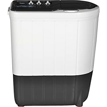 Whirlpool 6.2 kg Semi-Automatic Top Loading Washing Machine (SUPERB ATOM 6.2, Dark Grey, TurboScrub Technology)