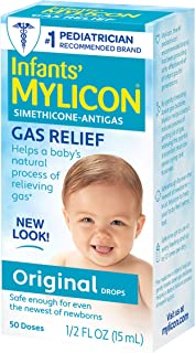Best Mylicon Gas Relief Drops for Infants and Babies, Original Formula, 0.5 Fluid Ounce Review