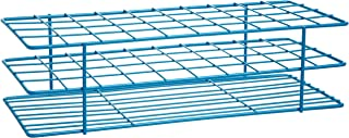 Rack Tube Test Poxygrid Bel-Art F18772-0001؛ 20-25 میلی متر ، 40 مکان ، 11⁹ / ₁₆ x 5¹ / ₁₆ x 3¹ / ₄ در. ، آبی