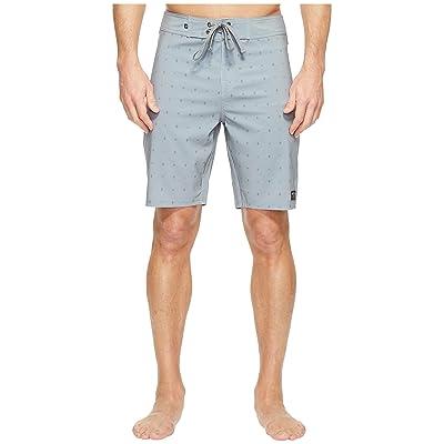 United By Blue River Bed Boardshorts (Grey) Men