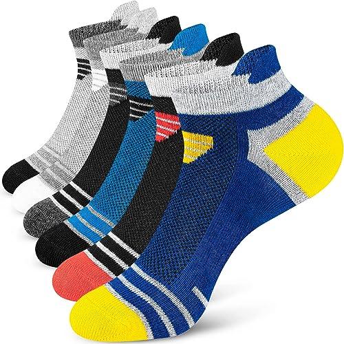 Newdora Chaussette Hommes, 6 paires, Respirantes Chaussettes Basses Homme en Coton, Confortable Invisible Socquettes ...