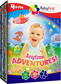 BabyFirst: Anytime Adventures Bundle Best of BabyFirst Volume 2, Joeys ToyBox, Baby Class Little Lessons, Sweet Dreams