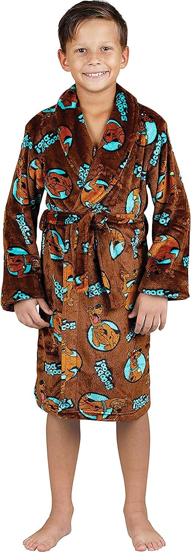 Scooby Doo Toddler Boys' Soft Fleece Spa Robe Luxe store Comfy Regular discount B Plush
