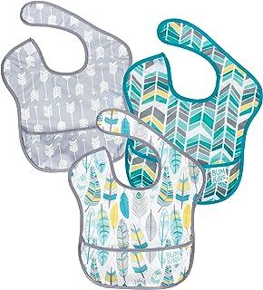 Bumkins SuperBib - Babero para bebé, impermeable, lavable, resistente a las manchas y al olor, para niños de 6 a 24 meses.