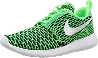 WMNS Roshe One Flyknit Women Lifestyle Casual Sneakers New Voltage Green (7.5)