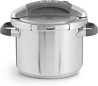 Calphalon Pressure Cooker, 6 Quart, Black/Silver