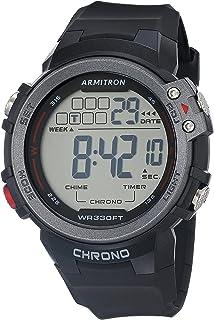 Armitron Sport Men's Digital Chronograph Resin Strap Watch, 40/8464