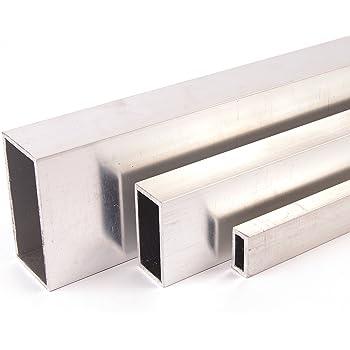 Quadratrohr Stahlrohr Hohlprofil Vierkantrohr 1250mm L/änge 25x25x3 blank