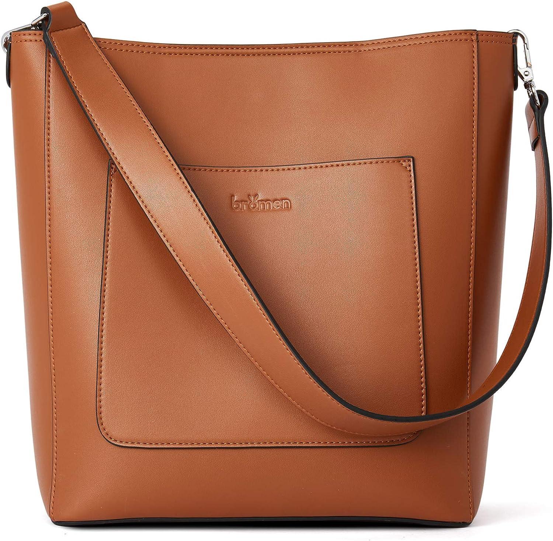 BROMEN Hobo Bags for Women Handbags Leather Max 43% OFF Shoulder Bu NEW before selling ☆ Designer
