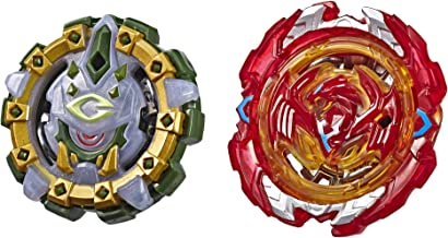BEYBLADE Burst Turbo Slingshock Dual Pack Phoenix P4 and Cyclops C4 – 2 Right-Spin Battling Tops, Age 8+