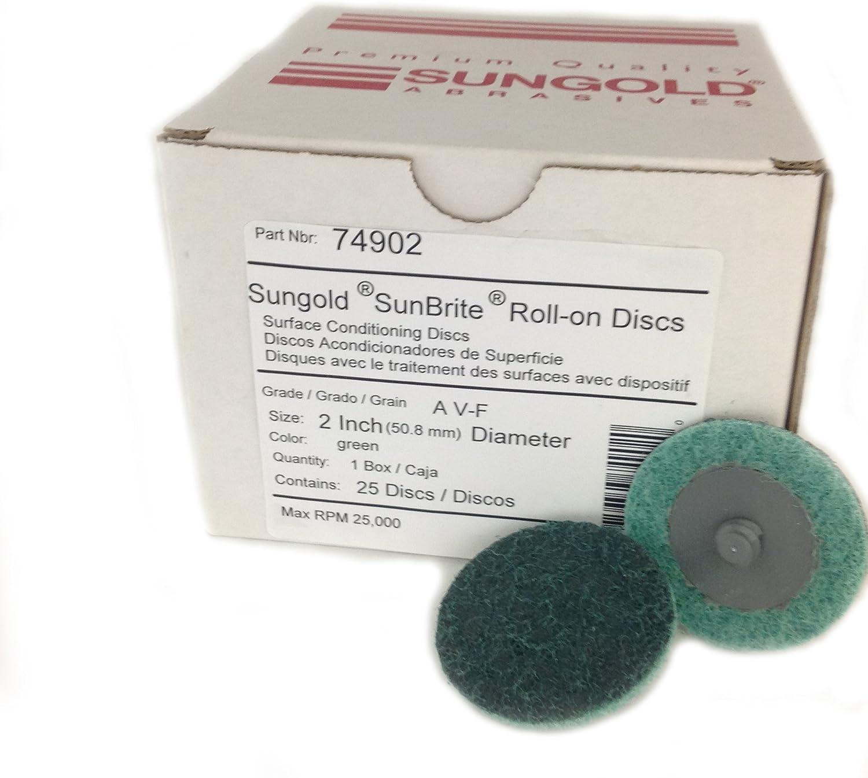 Sungold Abrasives 74902 Non Cheap bargain Woven Qu R-Type Nashville-Davidson Mall Surface Conditioning