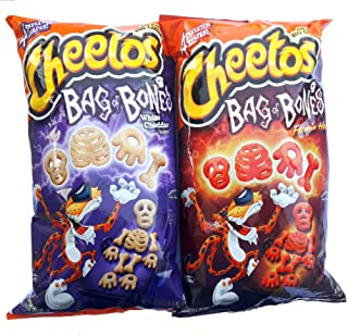Cheetos limited-edition Cheetos Bag of Bones White Cheddar and Cheetos Flamin' Hot Bag of Bones!! (ONE OF EACH )