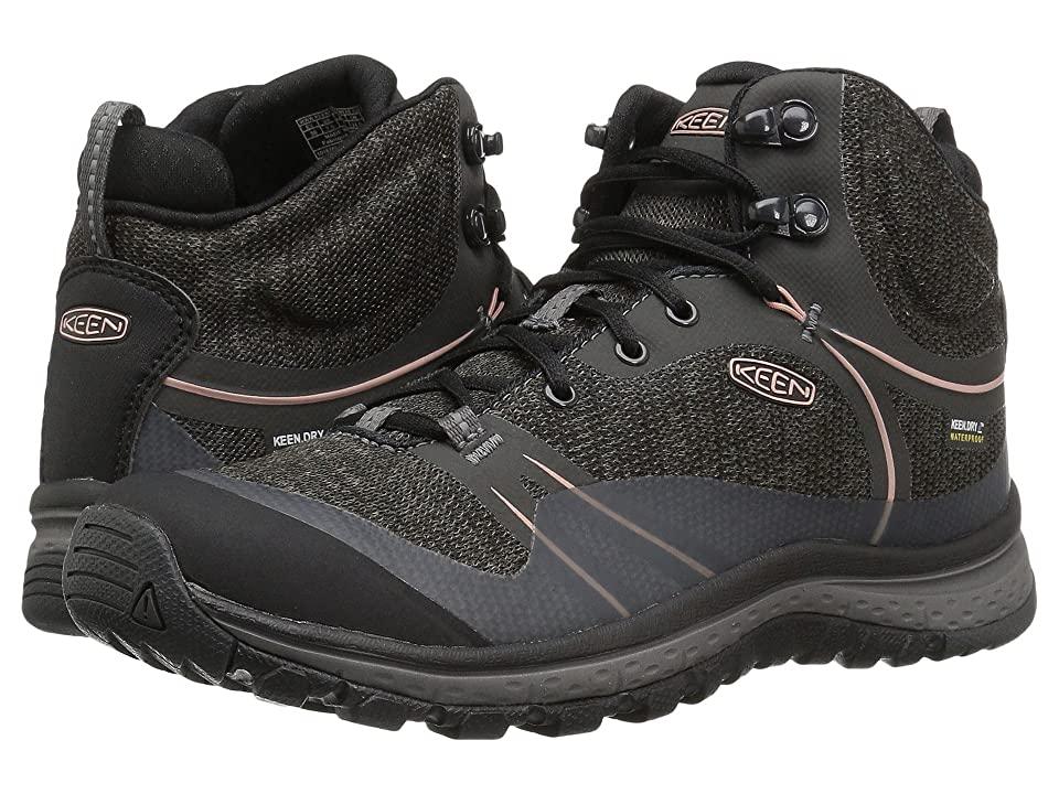 Keen Terradora Mid Waterproof (Raven/Rose Dawn) Women