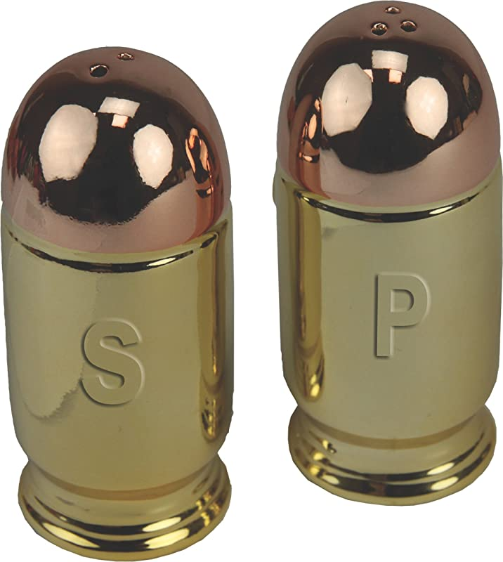 River S Edge Products Bullet Salt Pepper Shaker Set