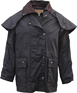 FOXFIRE Outback Trail, Oilskin, Oilcloth, Waterproof Duster Short Coat