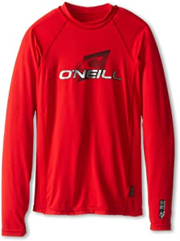 O'Neill Kids Skins L/S Crew (Little Kids/Big Kids)
