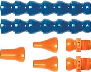 Loc-Line Coolant Hose Assembly Kit, Acetal Copolymer, 7 Piece, 1/2
