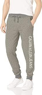 Men's Monogram Logo Jogger Sweatpants