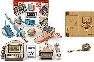 Nintendo Labo (ニンテンドー ラボ) Toy-Con 01: Variety Kit 【Amazon.co.jp限定】オリジナルマスキングテープ+専用おまけパーツセット - Switch