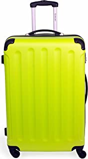 Globalway Luggage Trolley 28 Inches (71 Cm) Checked Bag for 30 KG - Hardshell Suitcase Spinner Luggage for Travel - ABS La...