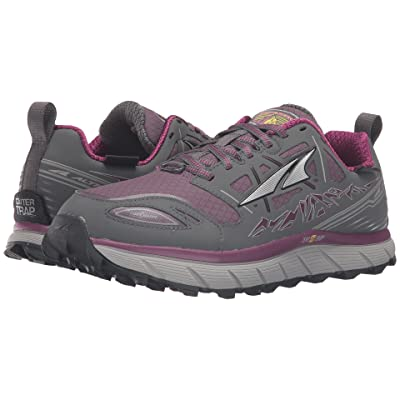Altra Footwear Lone Peak 3 Neoshell (Gray/Purple) Women