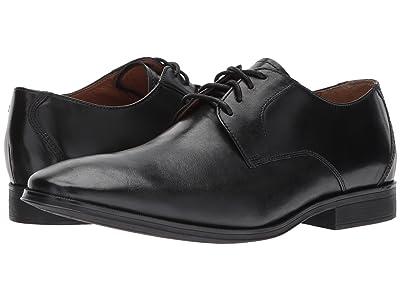 Clarks Gilman Lace (Black Leather) Men