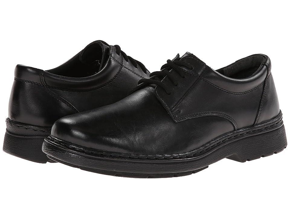 Jumping Jacks Kids Ted (Adult) (Black Leather) Boys Shoes
