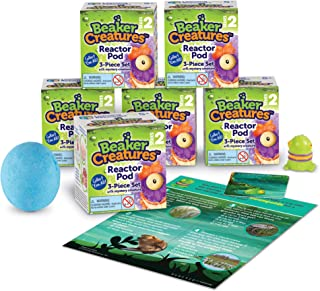 Learning Resources Beaker Creatures Series 2, Assorted Colors, 6-Pack, Ages 5+