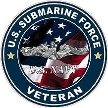 Nostalgia Decals United States Navy Submarine Force Veteran Decal is 5