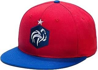 France Adjustable Snapback 2 Tone Flatbill Soccer Hat