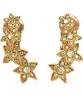Oscar de la Renta - Star Fish C Earrings
